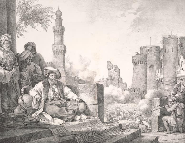 Voyage dans le Levant - Massacre des Mamlouks rebelles dans le chateau du Caire (1819)