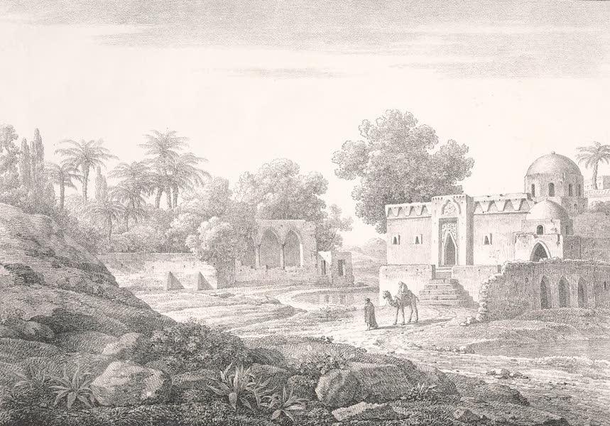 Voyage dans le Levant - Vue de Syout [l'ancienne Lycopolis], haute Egypte (1819)