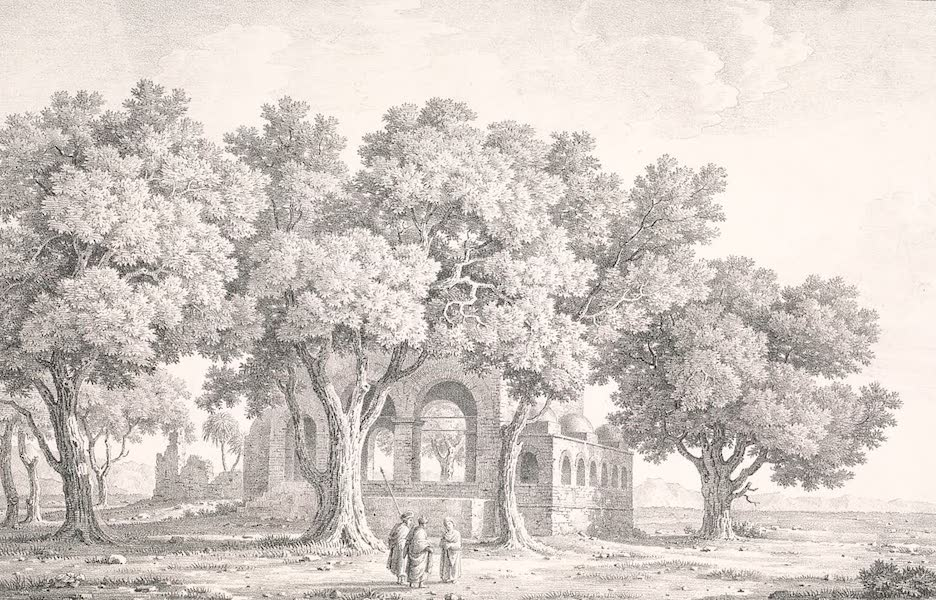 Voyage dans le Levant - Fontaine pres de Syout, haute Egypte (1819)