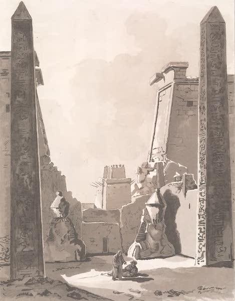 Voyage dans le Levant - Obelisques de Louqsor a Thebes (1819)