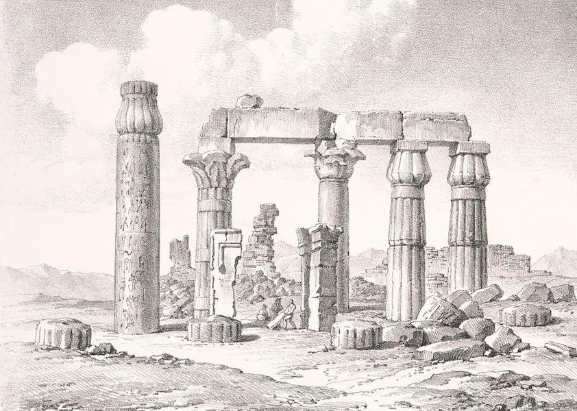 Voyage dans le Levant - Ruines de Med-amoud, pres de Karnak, a Thebes, haute Egypte (1819)