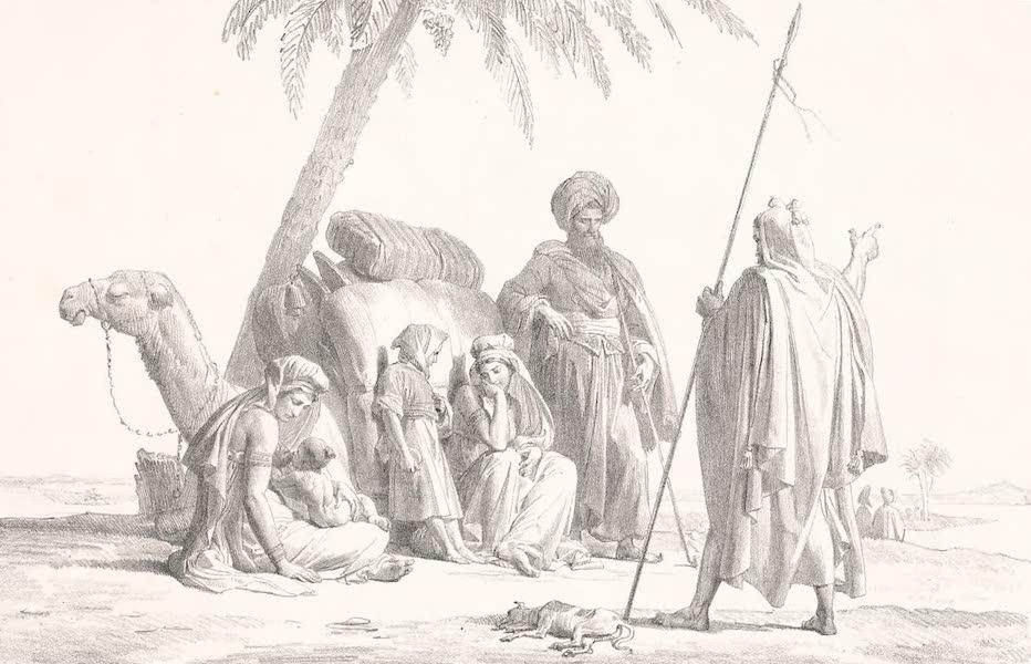 Voyage dans le Levant - Halte d'Arabes Bedouins sur le bord av Nil (1819)