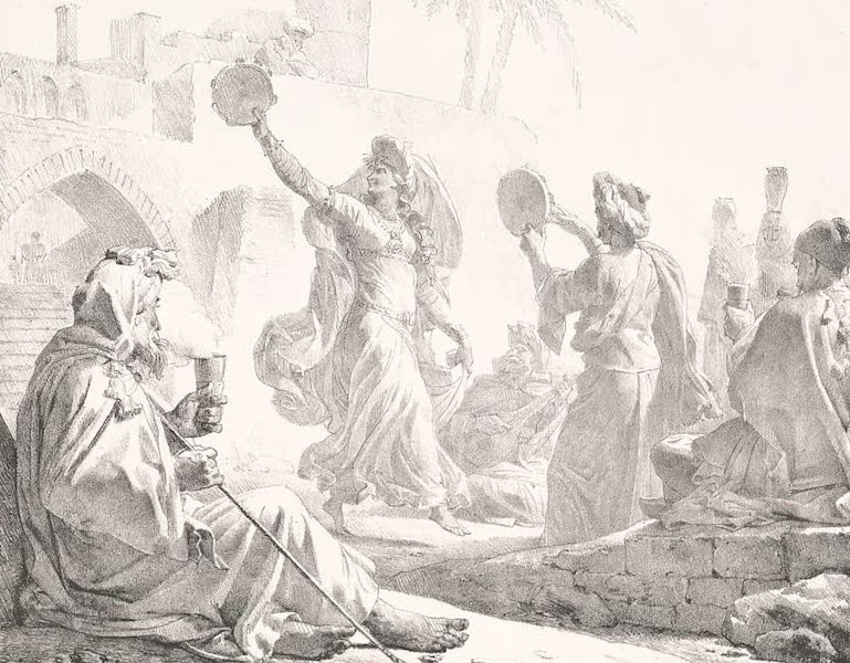 Voyage dans le Levant - La danse de l'almeh a Beny-Soueyf (1819)
