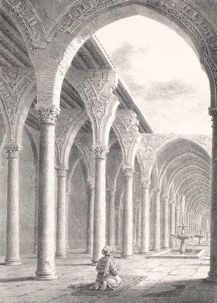 Voyage dans le Levant - Ruines de la grande mosquee d'Omar au vieux Caire (1819)
