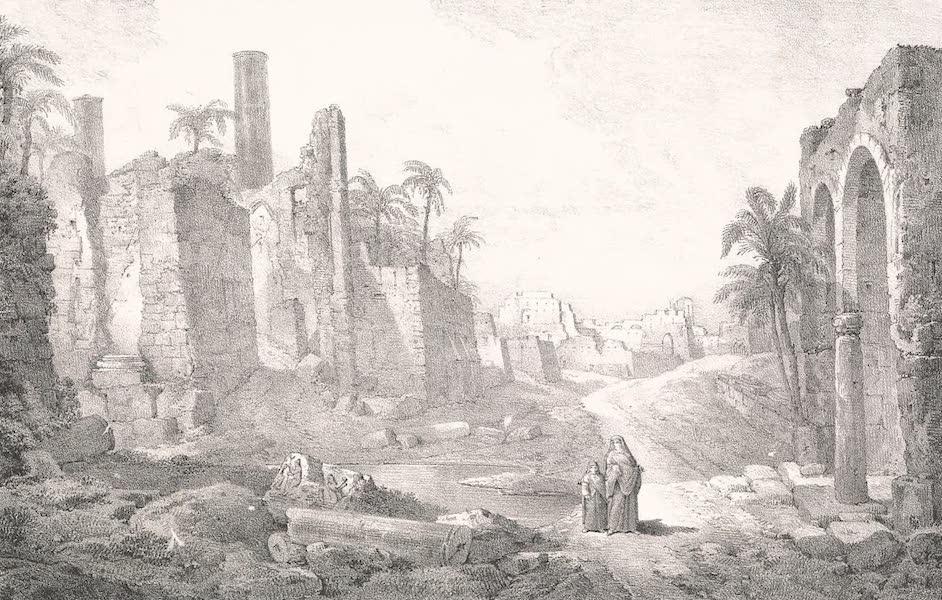 Voyage dans le Levant - Porte de Rosette a Alexandrie (1819)