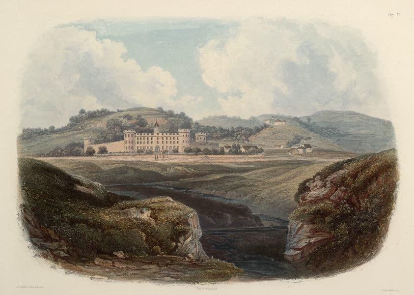 Voyage dans l'Interieur de l'Amerique du Nord Atlas - Zuchthaus bei Pittsburgh. / Penitentiare près de Pittsburgh. / Penitentiary near Pittsburgh. (1840)