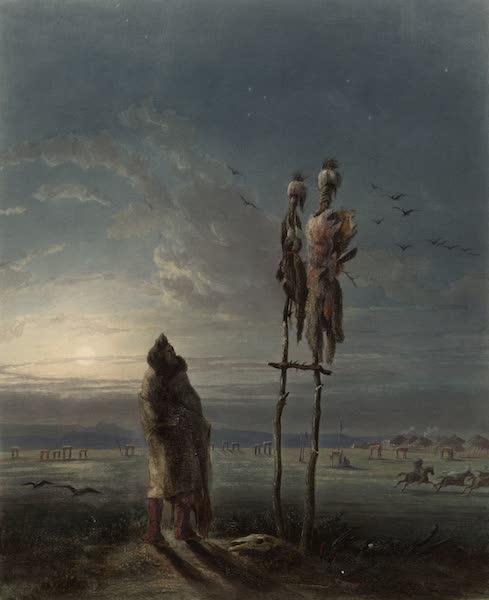 Voyage dans l'Interieur de l'Amerique du Nord Atlas - Götzenbilder der Mandan Indianer. / Idoles des Indiens Mandans. / Idols of the Mandan Indians. (1840)
