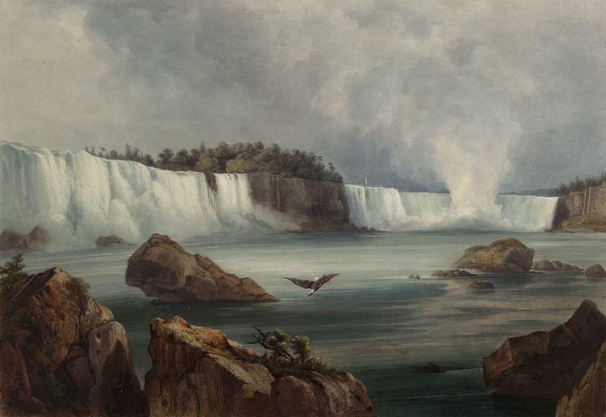 Voyage dans l'Interieur de l'Amerique du Nord Atlas - Niagara Fälle. / Les chûtes du Niagara. / Niagara falls. (1840)