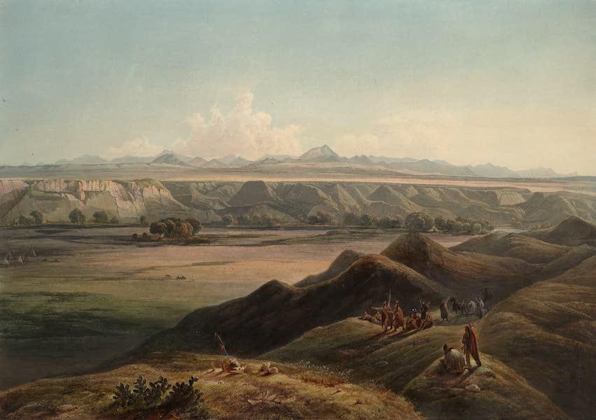 Voyage dans l'Interieur de l'Amerique du Nord Atlas - Ansicht der Rocky Mountains. / Vue des Montagnes Rocheuses. / View of the Rocky Mountains. (1840)