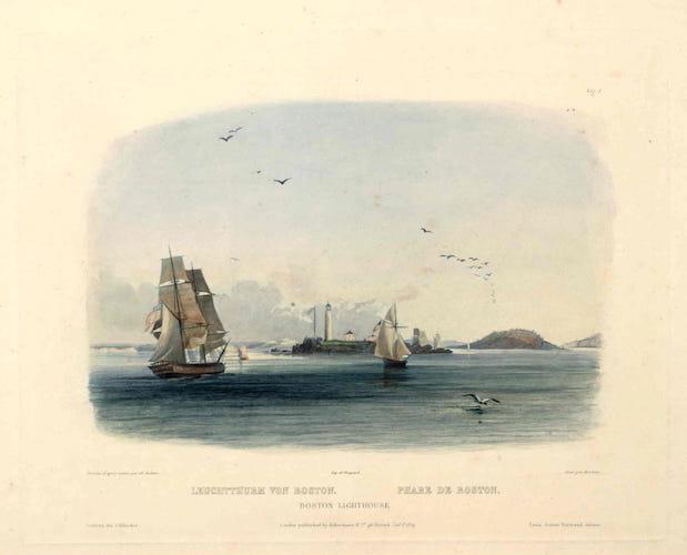 French - Voyage dans l'Interieur de l'Amerique du Nord Atlas