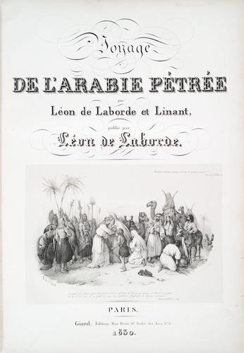 New York Public Library - Voyage de l'Arabie Pétrée