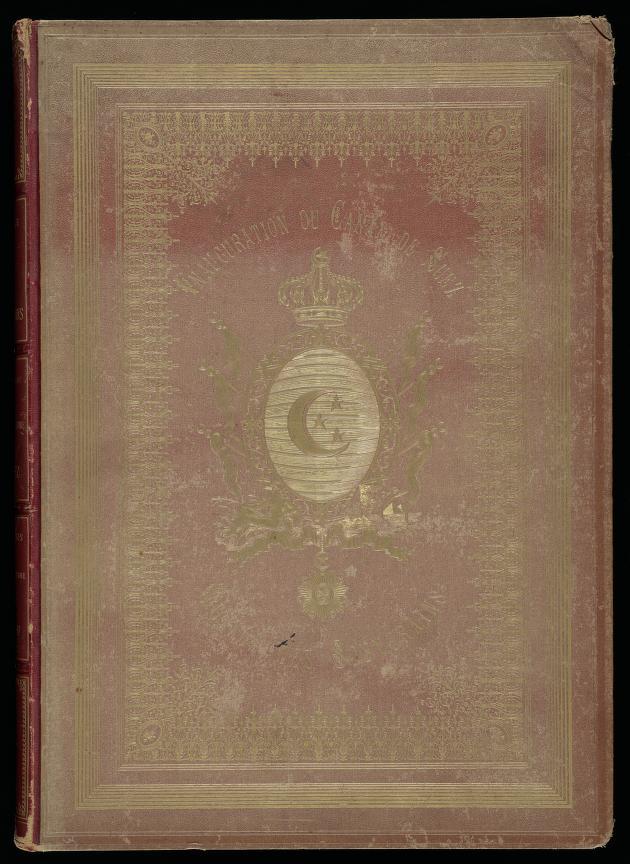 Voyage des Souverains du Canal du Suez - Front Cover (1870)