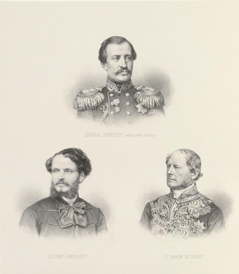Voyage des Souverains du Canal du Suez - Les Ambassadeurs (1870)