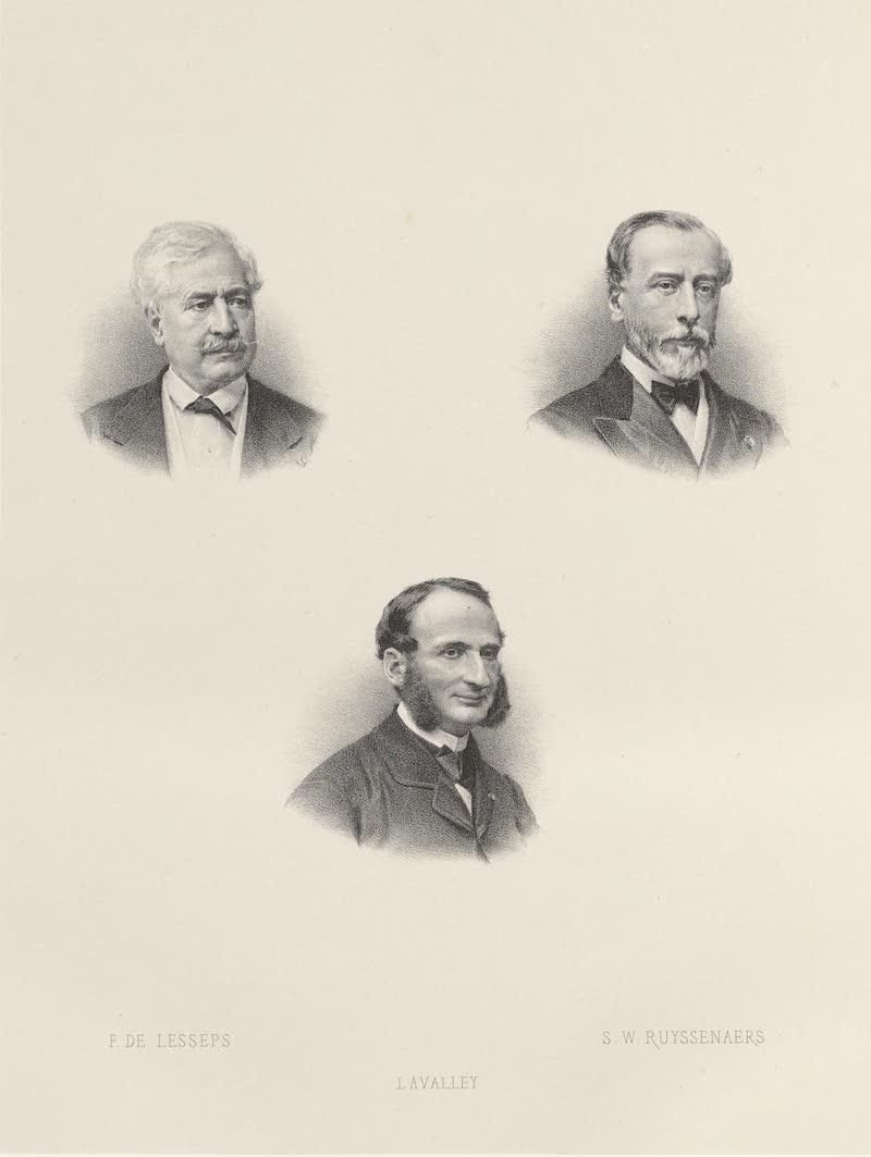 Voyage des Souverains du Canal du Suez - De Lesseps Ruyssenaers L'Avalley (1870)