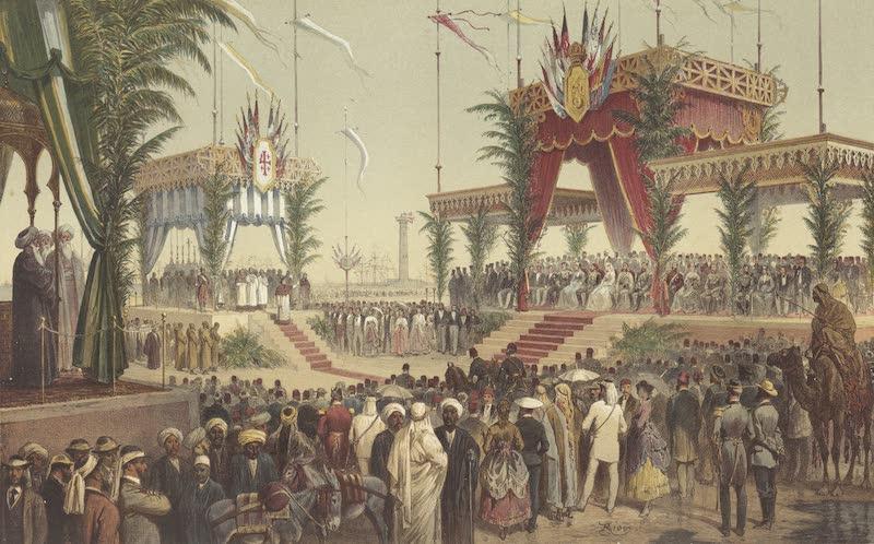 Voyage des Souverains du Canal du Suez - La Tribute des Souverains (1870)