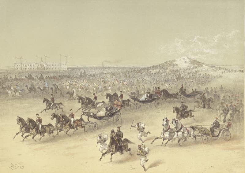 Voyage des Souverains du Canal du Suez - Promenade a Ismailia (1870)