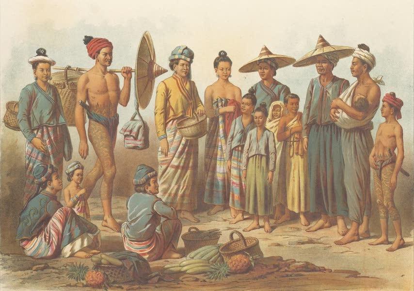 Voyage d'Exploration en Indo-Chine [Atlas-Vol. 1] - Laotiens des Possessions Birmanes (1873)