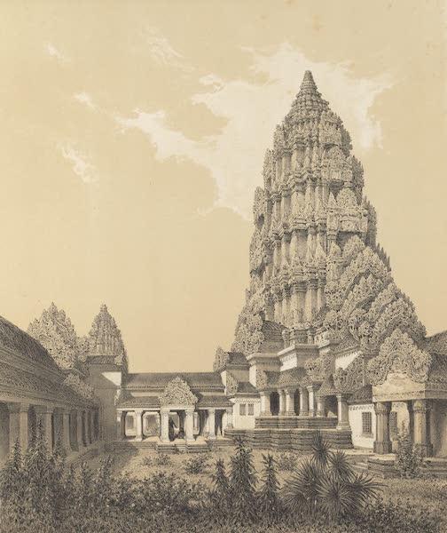 Voyage d'Exploration en Indo-Chine [Atlas-Vol. 1] - Tour Centrale et Gour Superieure d'Angcor Wat (1873)
