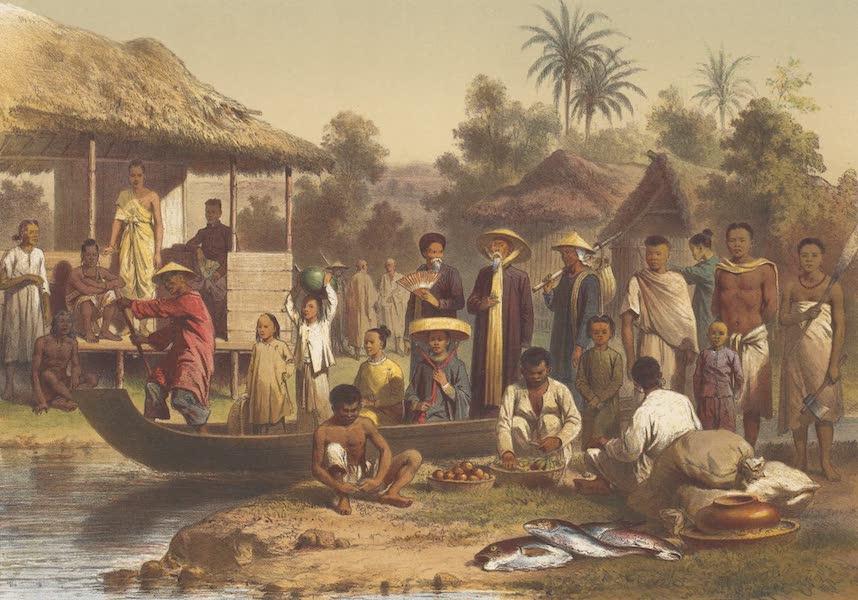 Voyage d'Exploration en Indo-Chine [Atlas-Vol. 1] - Costumes Annamites, Cambodgiens et Siamois (1873)