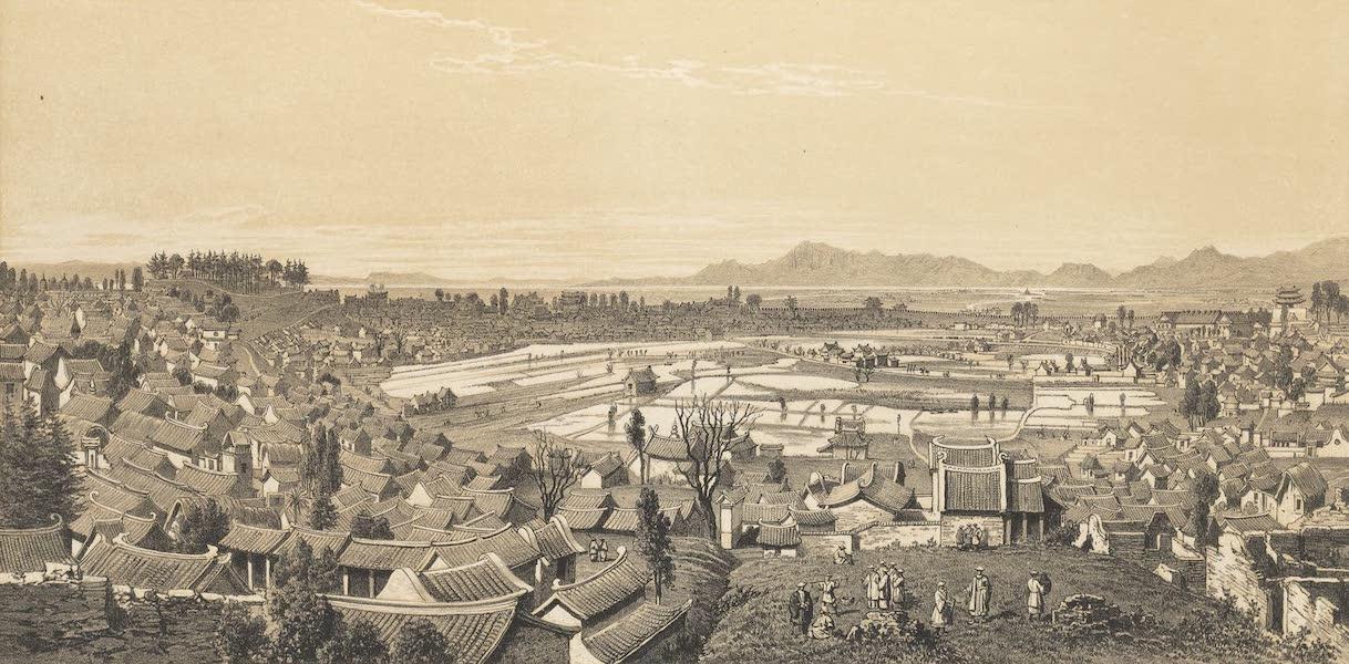 Voyage d'Exploration en Indo-Chine [Atlas-Vol. 1] - Ville de Yun-Nan (1873)