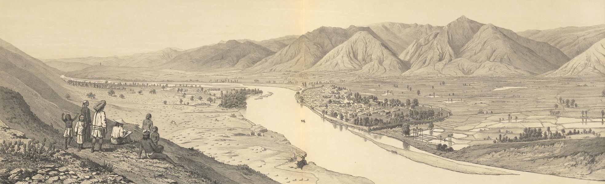 Voyage d'Exploration en Indo-Chine [Atlas-Vol. 1] - Le Fleuve du Tong-King et la Ville de Yuen-Kiang (1873)