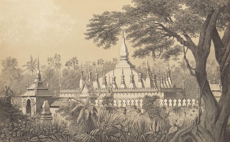 Voyage d'Exploration en Indo-Chine [Atlas-Vol. 1] - Ruines de Vien Chain : - Tat Luong (1873)