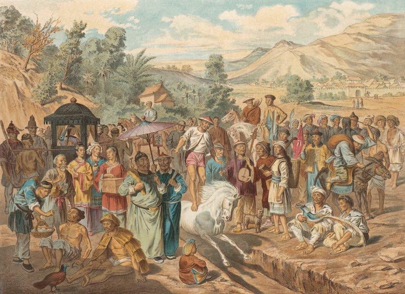 Voyage d'Exploration en Indo-Chine [Atlas-Vol. 1] - Examen des Bacheliers Militaires a Siu-Tcheaou Fou (1873)