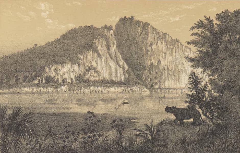 Voyage d'Exploration en Indo-Chine [Atlas-Vol. 1] - Rochers a l'Embouchure du Nam Hou (1873)