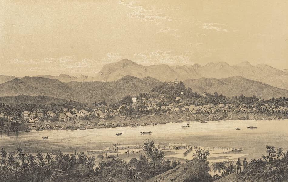 Voyage d'Exploration en Indo-Chine [Atlas-Vol. 1] - Ville de Luang Prabang (1873)