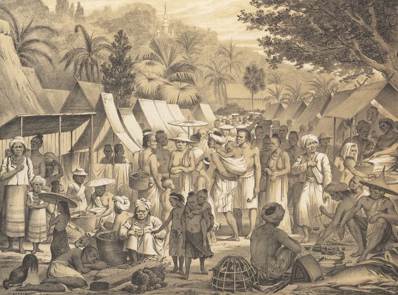 Voyage d'Exploration en Indo-Chine [Atlas-Vol. 1] - Marche de Luang Prabang (1873)