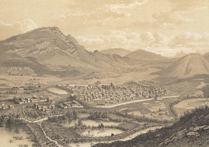 Voyage d'Exploration en Indo-Chine [Atlas-Vol. 1] - Ville de Pou-Eul (1873)