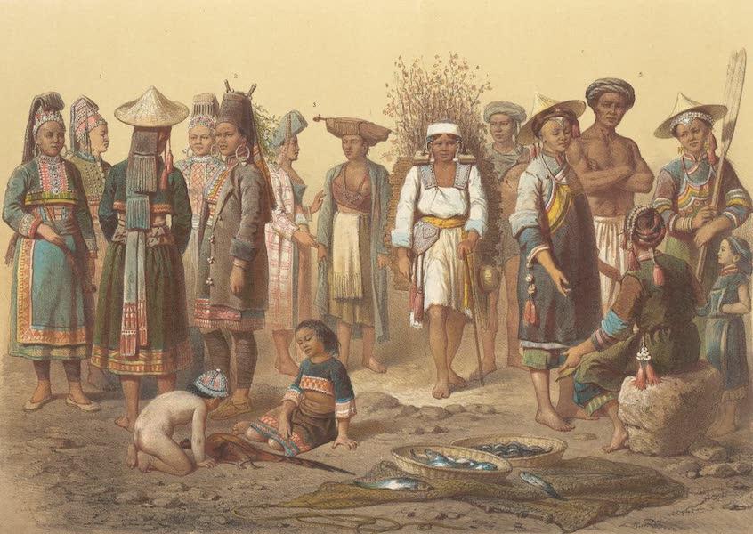Voyage d'Exploration en Indo-Chine [Atlas-Vol. 1] - Populations Mixtes du Nord du Yun-Nan (1873)