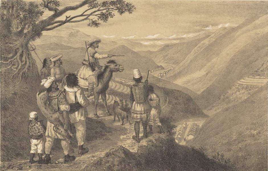 Voyage d'Exploration en Indo-Chine [Atlas-Vol. 1] - Vue Prise Entre Tchao-Tong et la Kouan (1873)