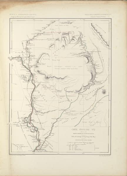 Voyage d'Exploration en Indo-Chine [Atlas-Vol. 2] - Carte Itineraire No. 2 (1873)