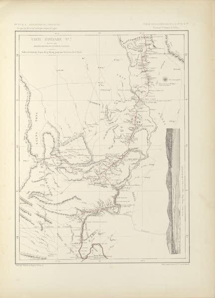 Voyage d'Exploration en Indo-Chine [Atlas-Vol. 2] - Carte Itineraire No. 7 (1873)