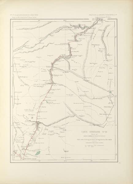 Voyage d'Exploration en Indo-Chine [Atlas-Vol. 2] - Carte Itineraire No. 10 (1873)