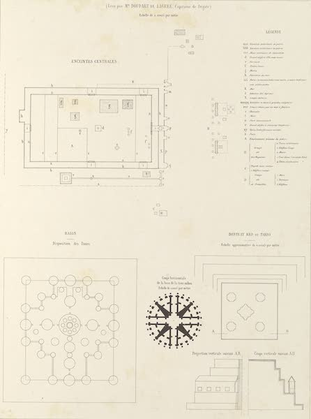 Voyage d'Exploration en Indo-Chine [Atlas-Vol. 2] - Monuments Khmers - Angcor Thom (1873)