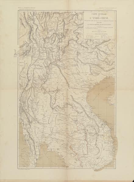 Voyage d'Exploration en Indo-Chine [Atlas-Vol. 2] - Carte Generale de l'Indo-Chine (1873)