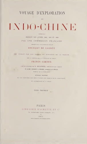 Getty Research Institute - Voyage d'Exploration en Indo-Chine [Text-Vol. 1]