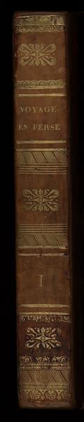 Voyage en Perse Vol. 1 - Spine (1825)