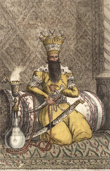 Voyage en Perse Vol. 1 - Portrait du Roi actuel de Perse; Fatey-Aly Schah (1825)