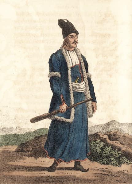 Voyage en Perse Vol. 1 - Homme du peuple en hourdi (1825)