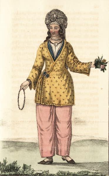 Voyage en Perse Vol. 1 - Dame persan en Scpapkin de Brocard (1825)
