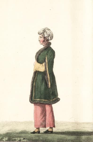Voyage en Perse Vol. 1 - Dame georgienne en costume national (1825)