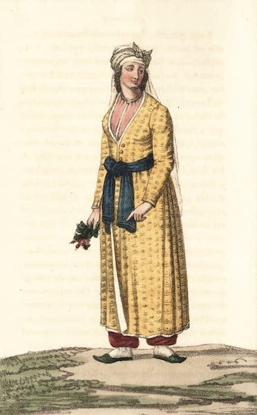 Voyage en Perse Vol. 1 - Dame circassienne en costume national (1825)