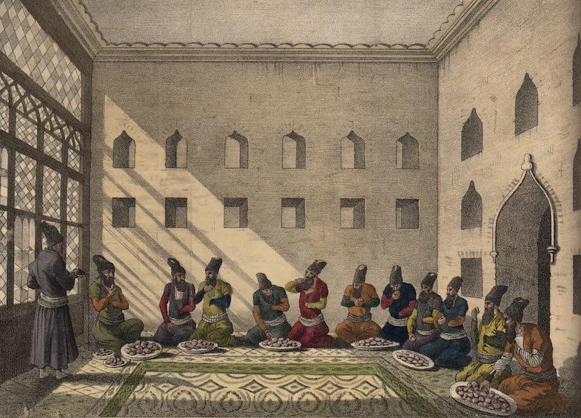 Voyage en Perse Vol. 1 - Repas persan (1825)