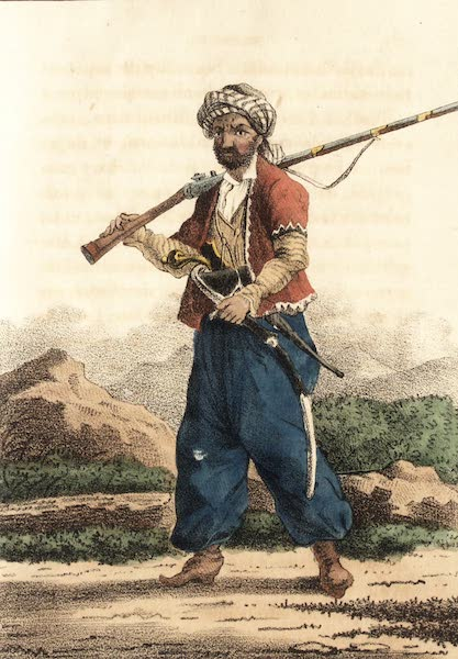 Voyage en Perse Vol. 1 - Courde des montagnes du Hekary (1825)