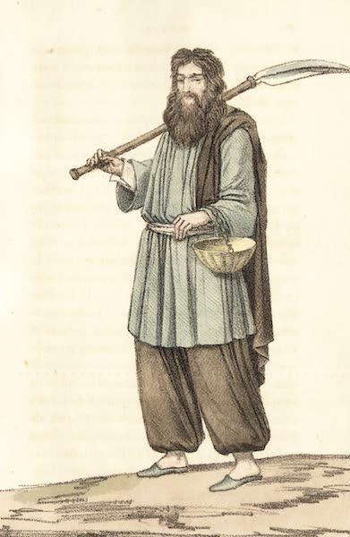 Voyage en Perse Vol. 1 - Fakir ou mendiant arabe (1825)