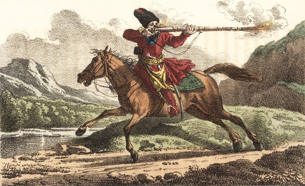 Voyage en Perse Vol. 1 - Golam du Roi; cavalier de la garde royale (1825)