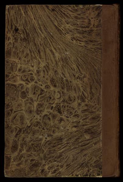 Voyage en Perse Vol. 1 - Back Cover (1825)